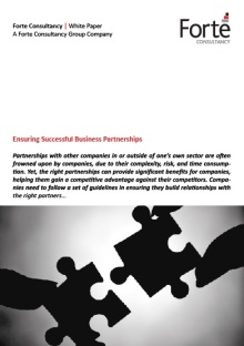 Ensuring Successful Business Partnerships