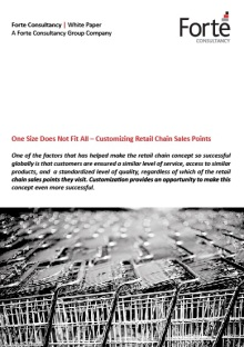 One Size Does Not Fit All – Customizing Retail Chain Sales Points