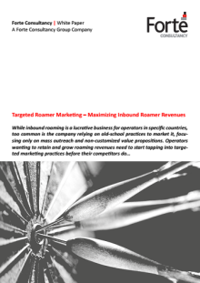 Targeted Roamer Marketing – Maximizing Inbound Roamer Revenues