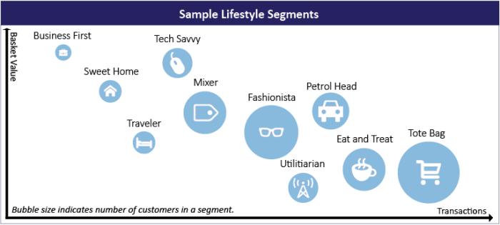 Sample Lifestyle Micro Segments